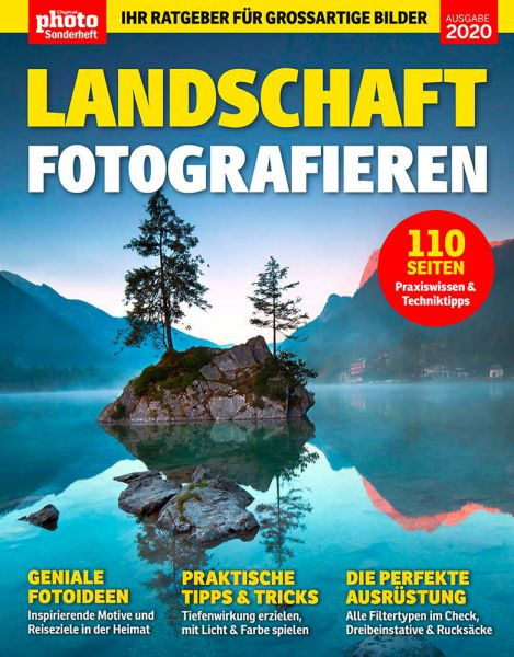 DigitalPHOTO Sonderheft – Landschaft fotografieren [eBook]