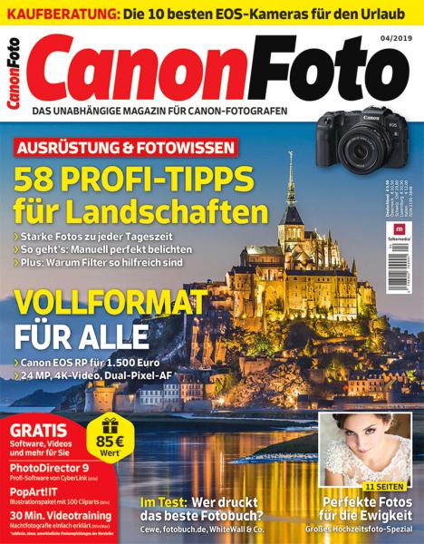 Canonfoto 04/2019 Cover 2D