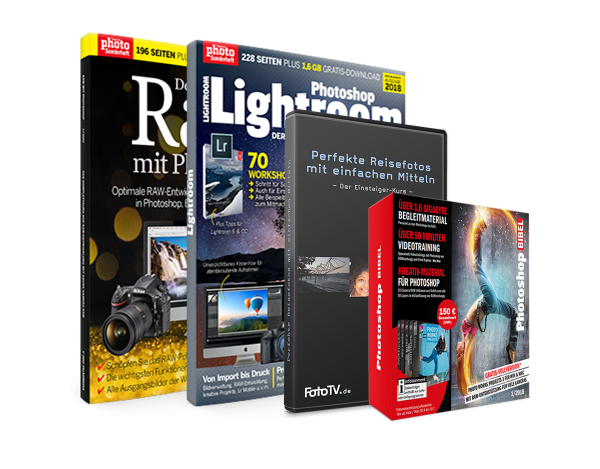 Lightroom & Raw Bundle mit DVD's