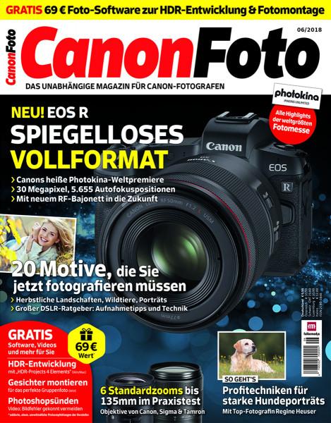 CanonFoto 06/2018 -Cover