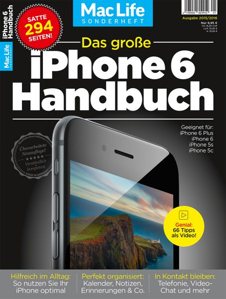 Das große iPhone 6 Handbuch