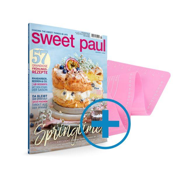 Sweet Paul & Silikon Backmatte