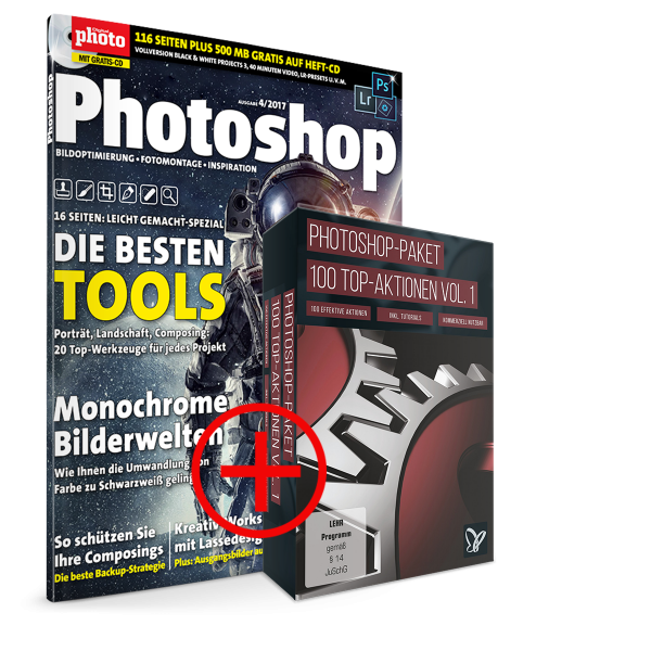 DigitalPhoto Photoshop + 100 Top Aktionen