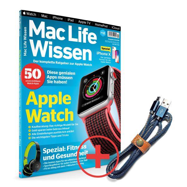 Mac Life Wissen 02/2018 & Lightningkabel