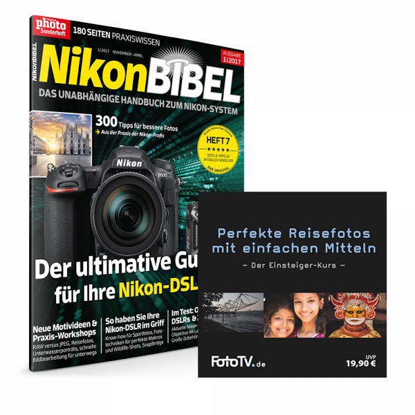 NikonBIBEL 2017 + Reisefoto-Tutorial DVD