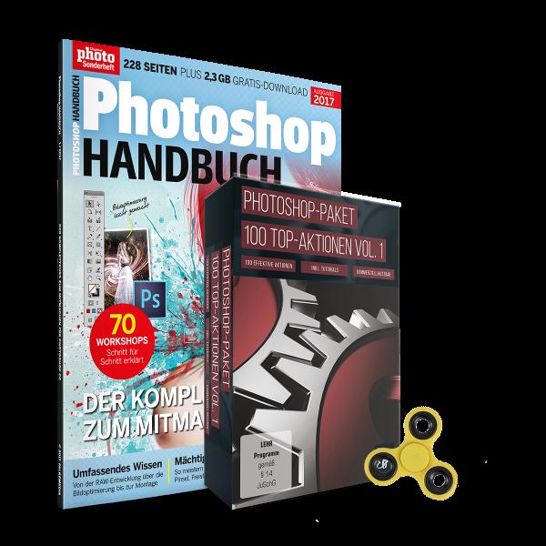 Photoshop Aktionen + Photoshop Handbuch