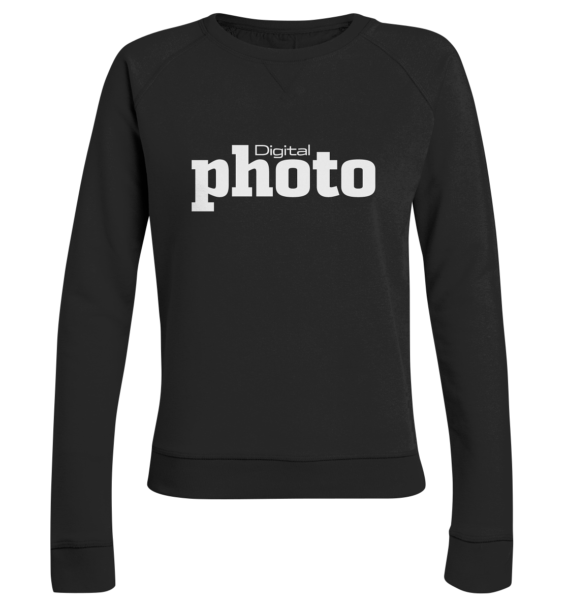 DigitalPHOTO Logo - Ladies Organic Sweatshirt