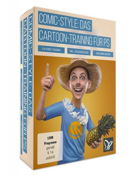 Comic-Style: Das Cartoon-Training für Photoshop