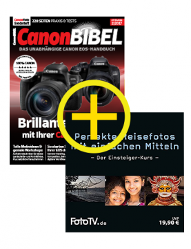 CanonBIBEL 02/2017 + Reisefoto-Tutorial DVD