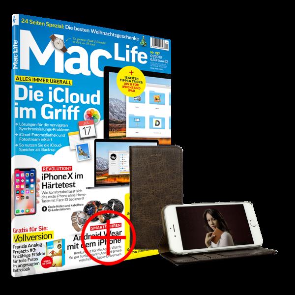 MacLife + iPhone 6/6s LeatherWallet