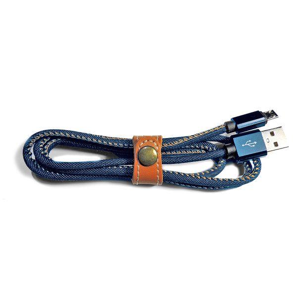 Lightning Ladekabel 1M Textildesign - Hochwertig & Stylisch
