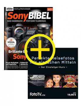 SonyBIBEL 2017 + Reisefoto-Tutorial DVD