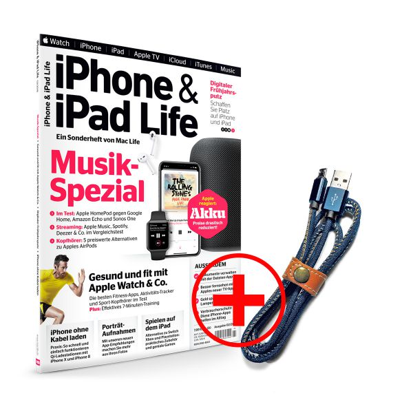 iPhone & iPad Life inkl. Lightning Kabel